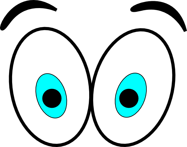 animated eyes cartoon eyes clip art set design and costumes rh pinterest com Cartoon Eyeballs scary eyeballs clipart