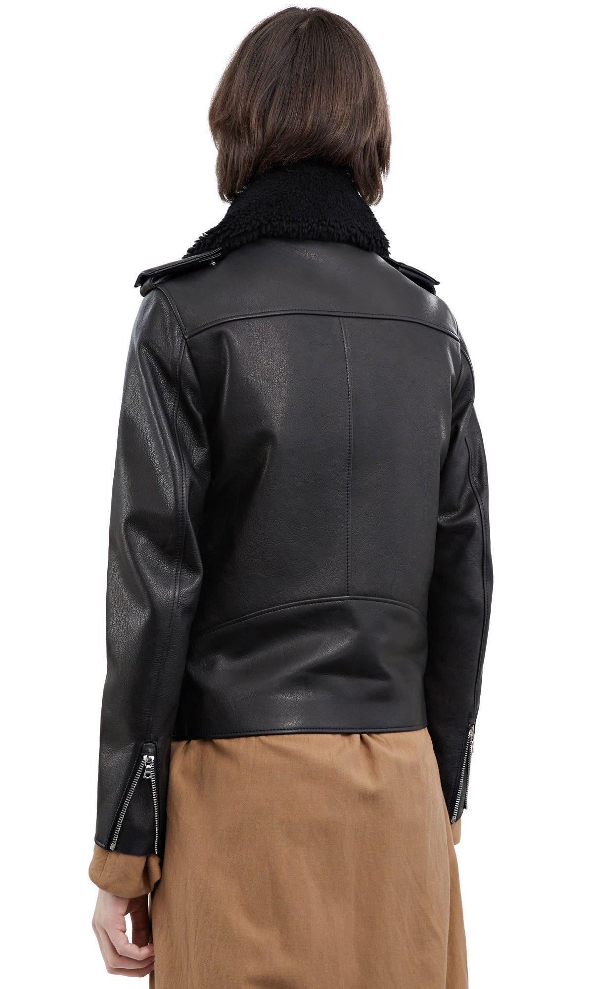 Araki, Black, 1200x 004 Leather jacket, Fashion, Black