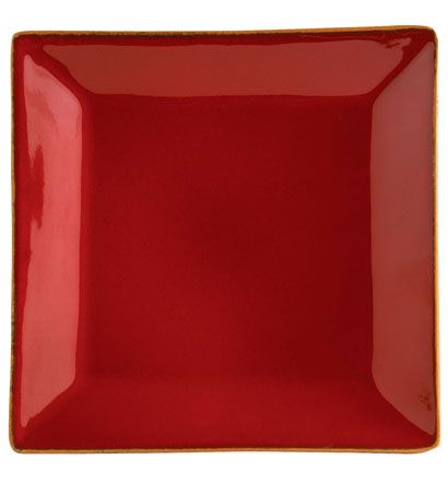 My plates VIETRI Rosso Vecchio Red Square Dinner Plate & My plates VIETRI Rosso Vecchio Red Square Dinner Plate | Kitchen at ...