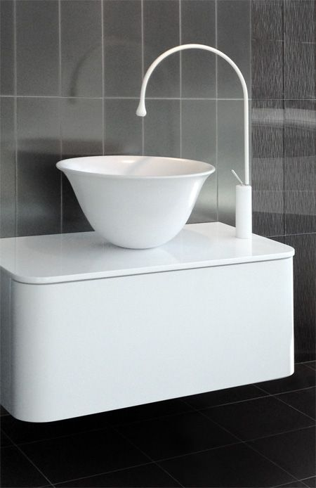 Gessi Goccia Faucet With Adina Vanity From The Furniture
