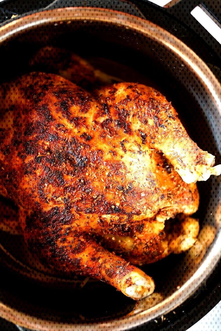 Instant Pot Rotisserie Chicken - 28 min whole rotisserie chicken? Yes! The chicken comes out perfec