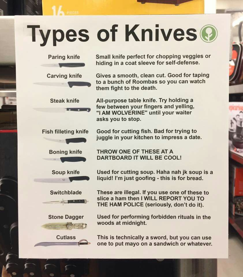Knives funny things pinterest funny posts funny things and