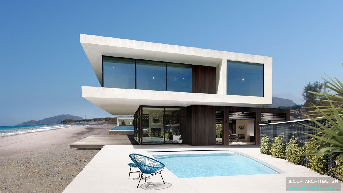 the contemporary beach house melbourne architects wolf architecture