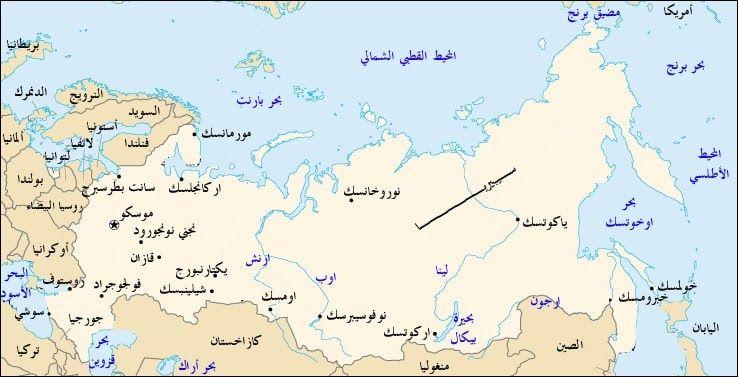 كم عدد سكان روسيا World Map Map Map Screenshot