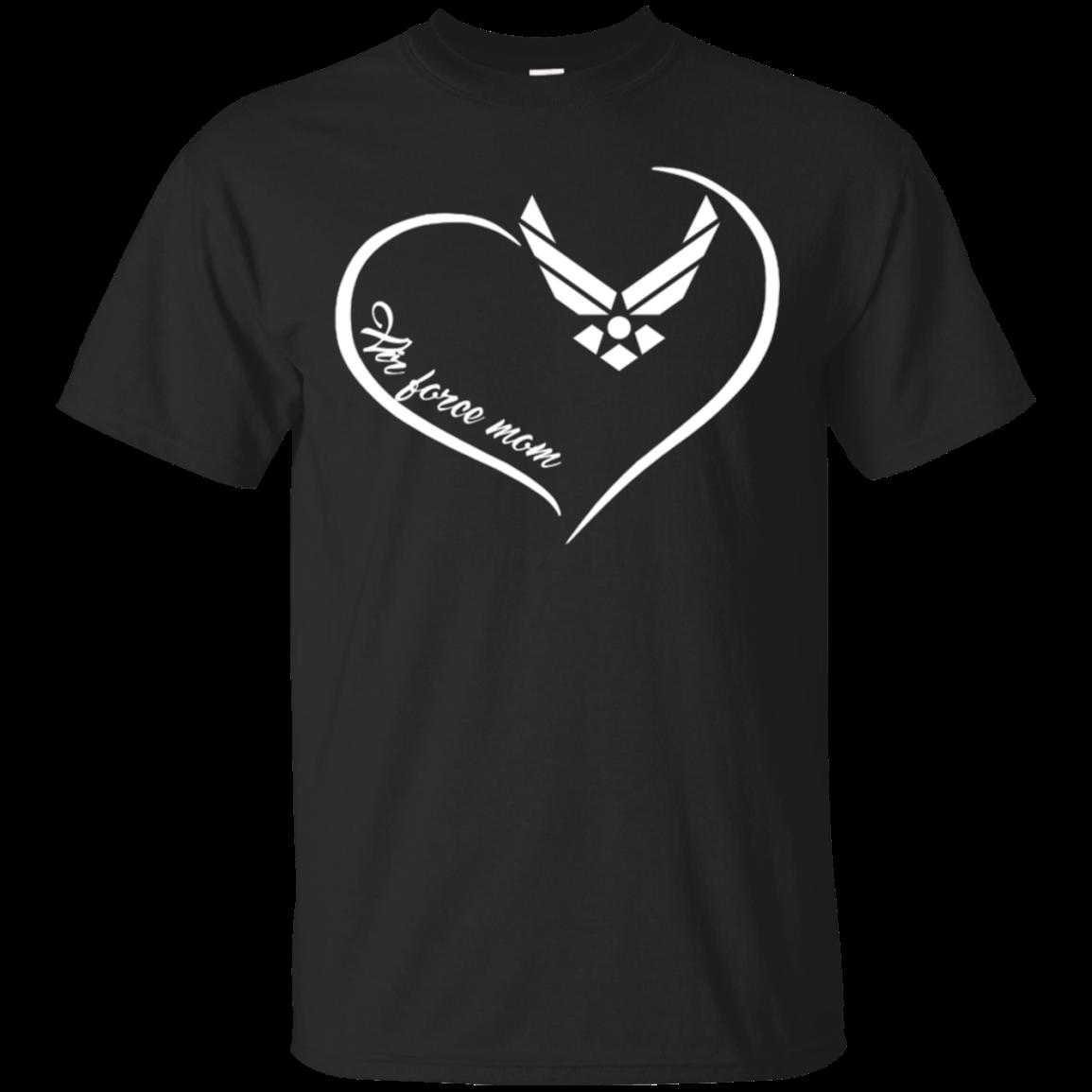 Air Force Mom Heart Shirt Tshirt Military life Air