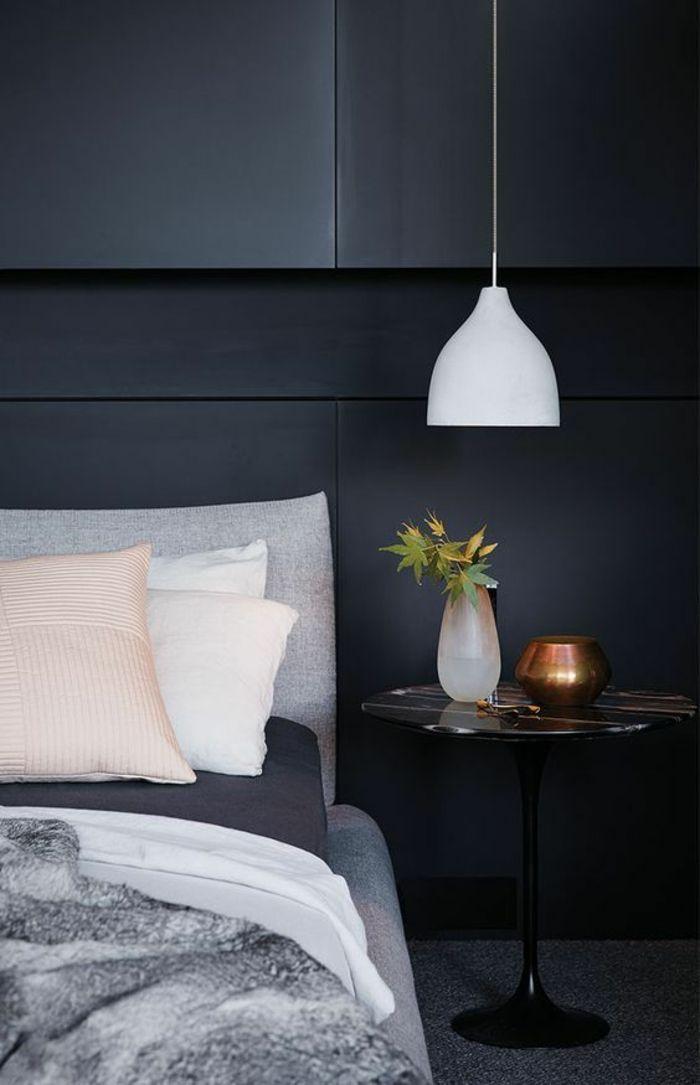 ▷ 1001 + idées pour une lampe de chevet suspendue dans la chambre à ...