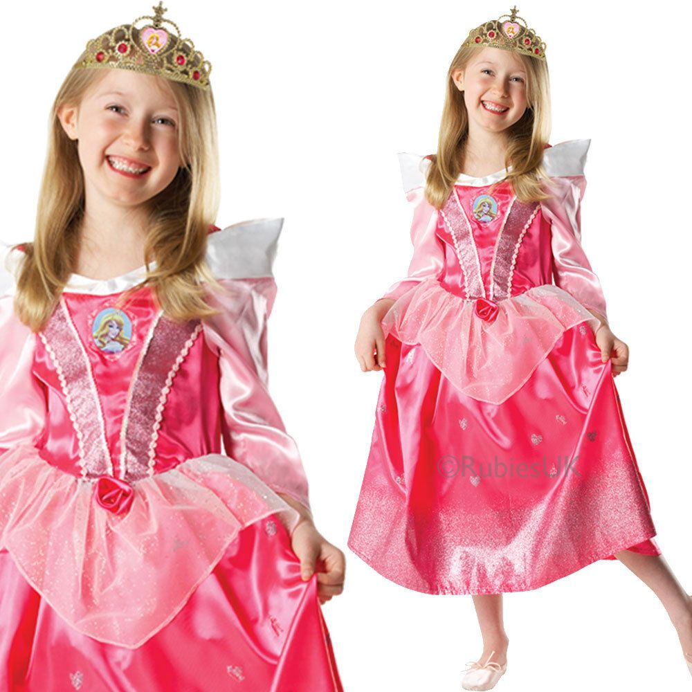 29a93c23dbb68 Kids Sleeping Beauty- Kids Princess Disney Fancy Dress Costume ...