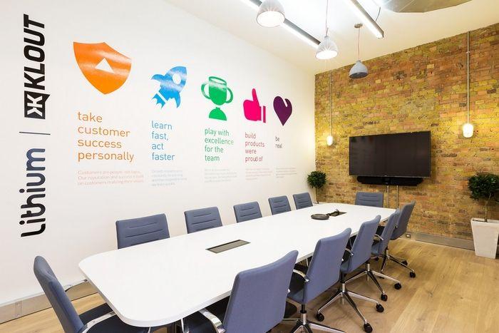 Office tour lithium offices london meet agencia de - Corporate office design ideas ...