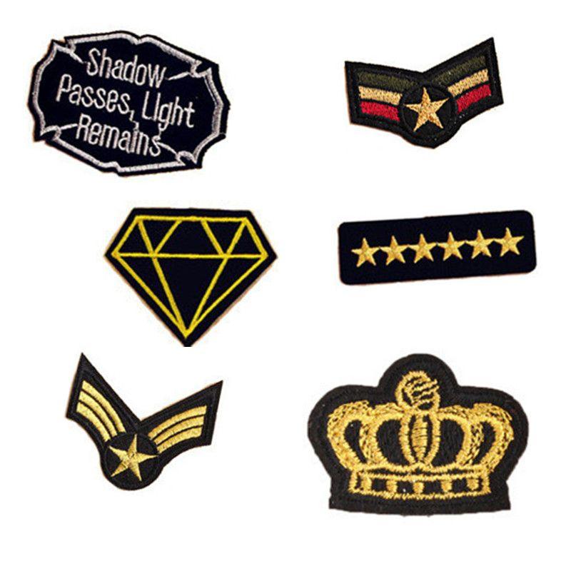 Parches ancla  termoadhesivos bordados aplique para ropa Emblemas