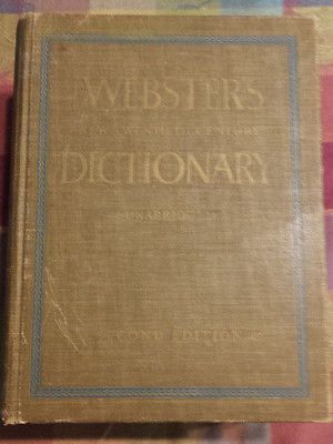 Webster's New Twentieth Century Dictionary Unabridged Second Edition 1964 #dictionary #websters #collectible