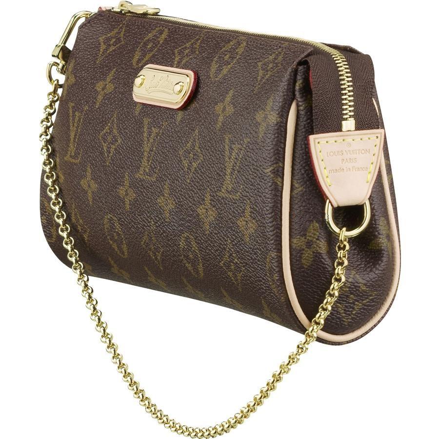 fc428bbf0406 Louis Vuitton M95567 Handbag Eva Clutch Brown