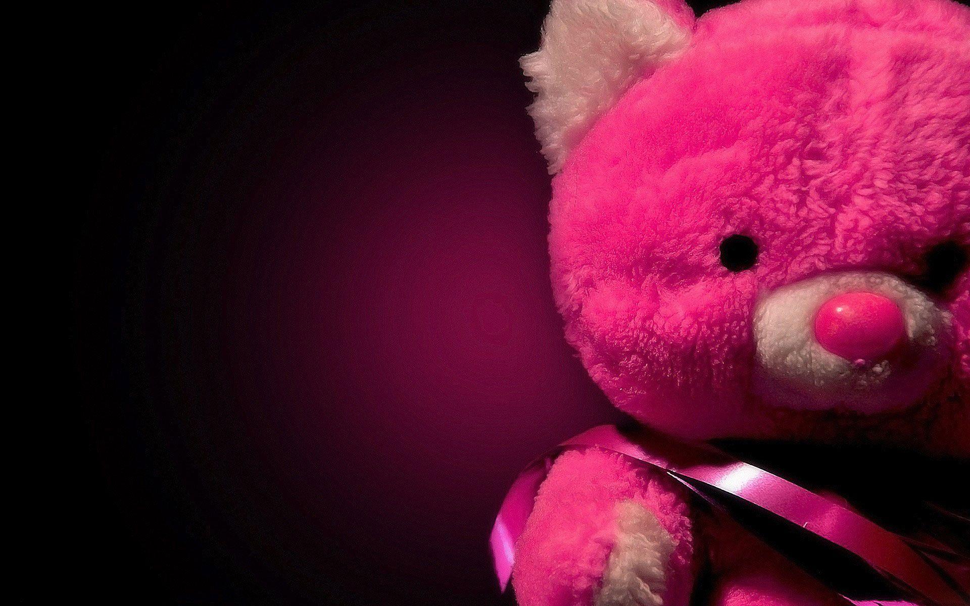 Pink Teddy Bear Hd Love Wallpaper Teddy Bear Wallpaper Teddy Bear Pictures Teddy Bear Images