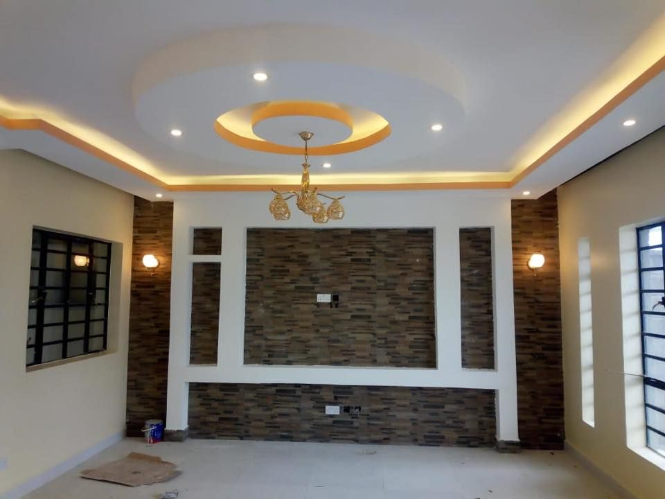 Athi River Kenya Gypsumceiling And Gypsum Dry Wall Living Room Set Up Gy Modern Living Room Interior Master Bedroom Interior Design Gold Living Room Decor