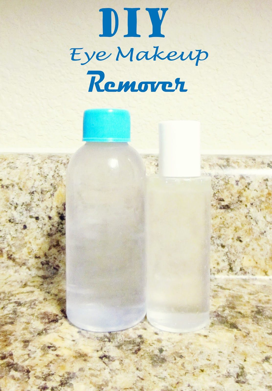 Easy DIY Eye Makeup Remover Diy makeup remover, Eye