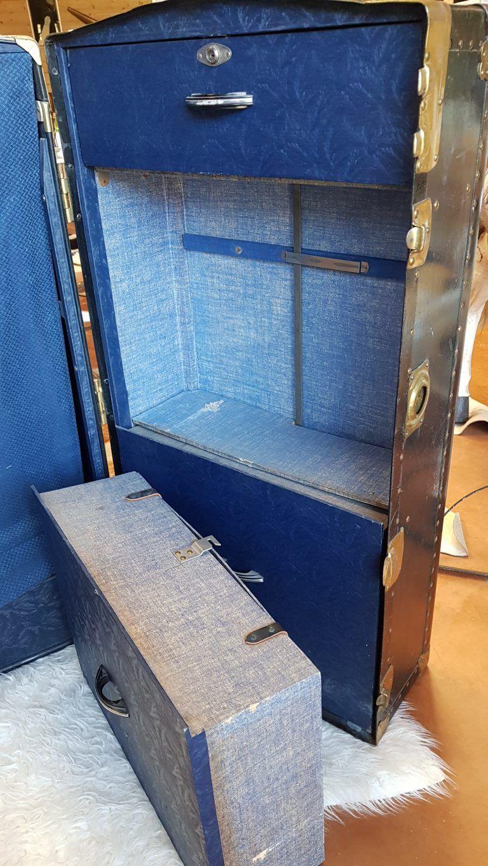 Vintage Deco Meuble Bagagerie Ancien Geneve Annecy Boutique Retro Annees 30 Vintage Retro Deco Vintage Retro
