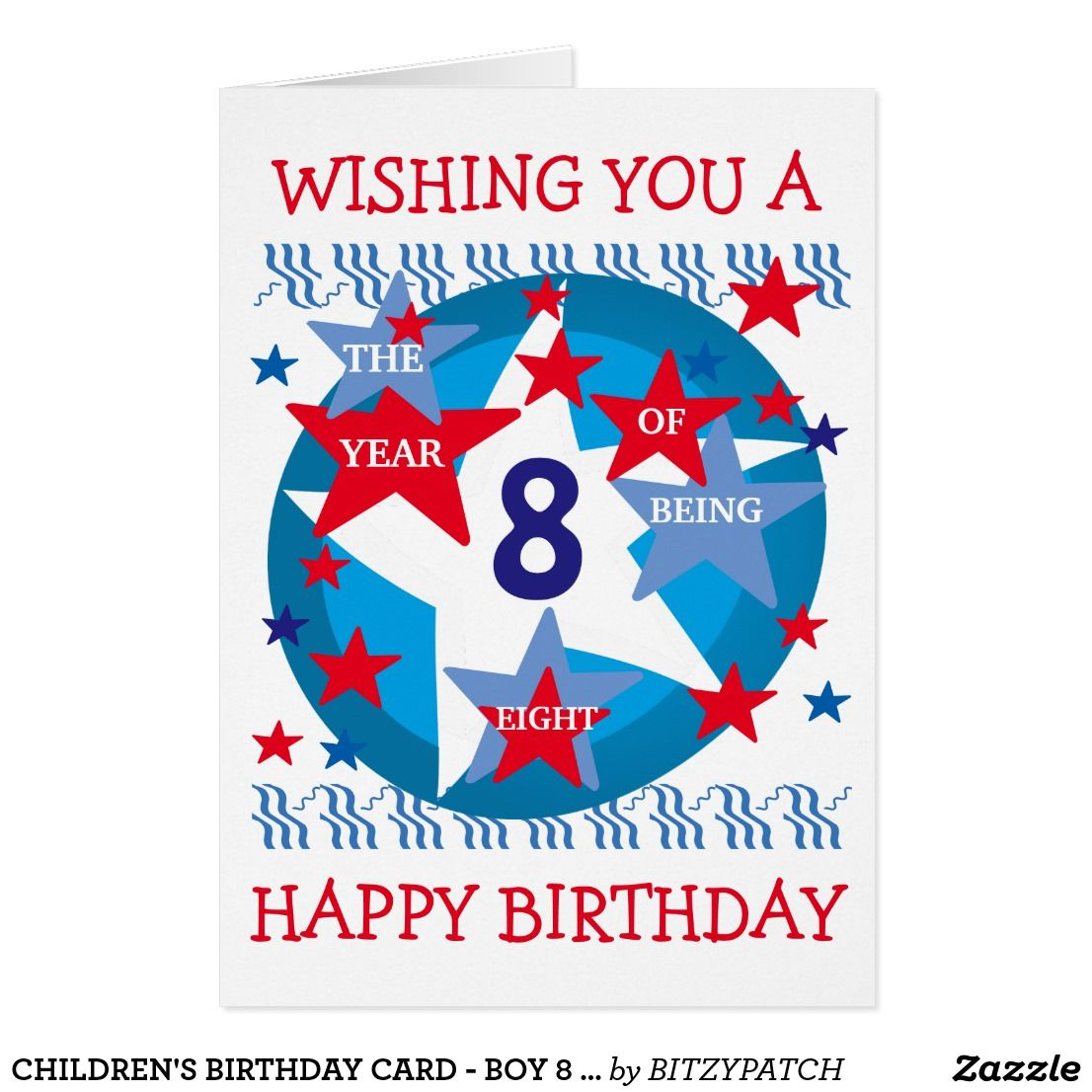Imagenes De Free Birthday Card For 8 Year Old Boy