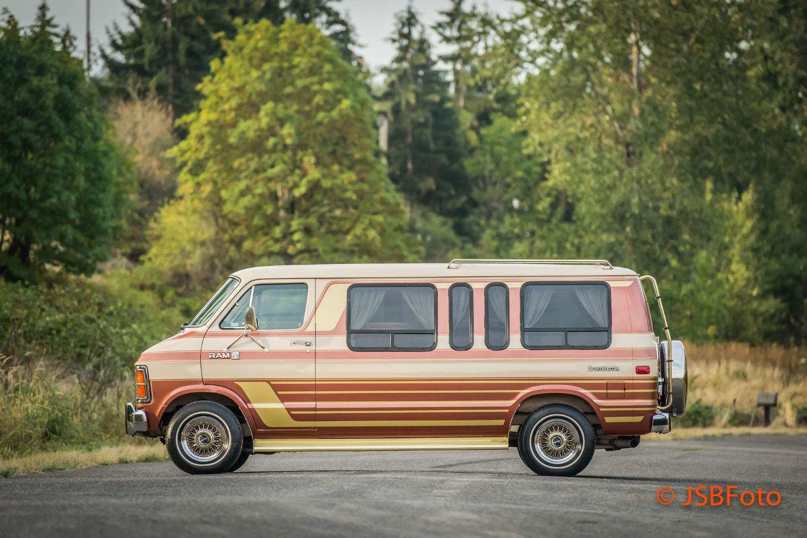 Dodge Ram Van B250 Van Fourgon Amenage Voiture Fourgon