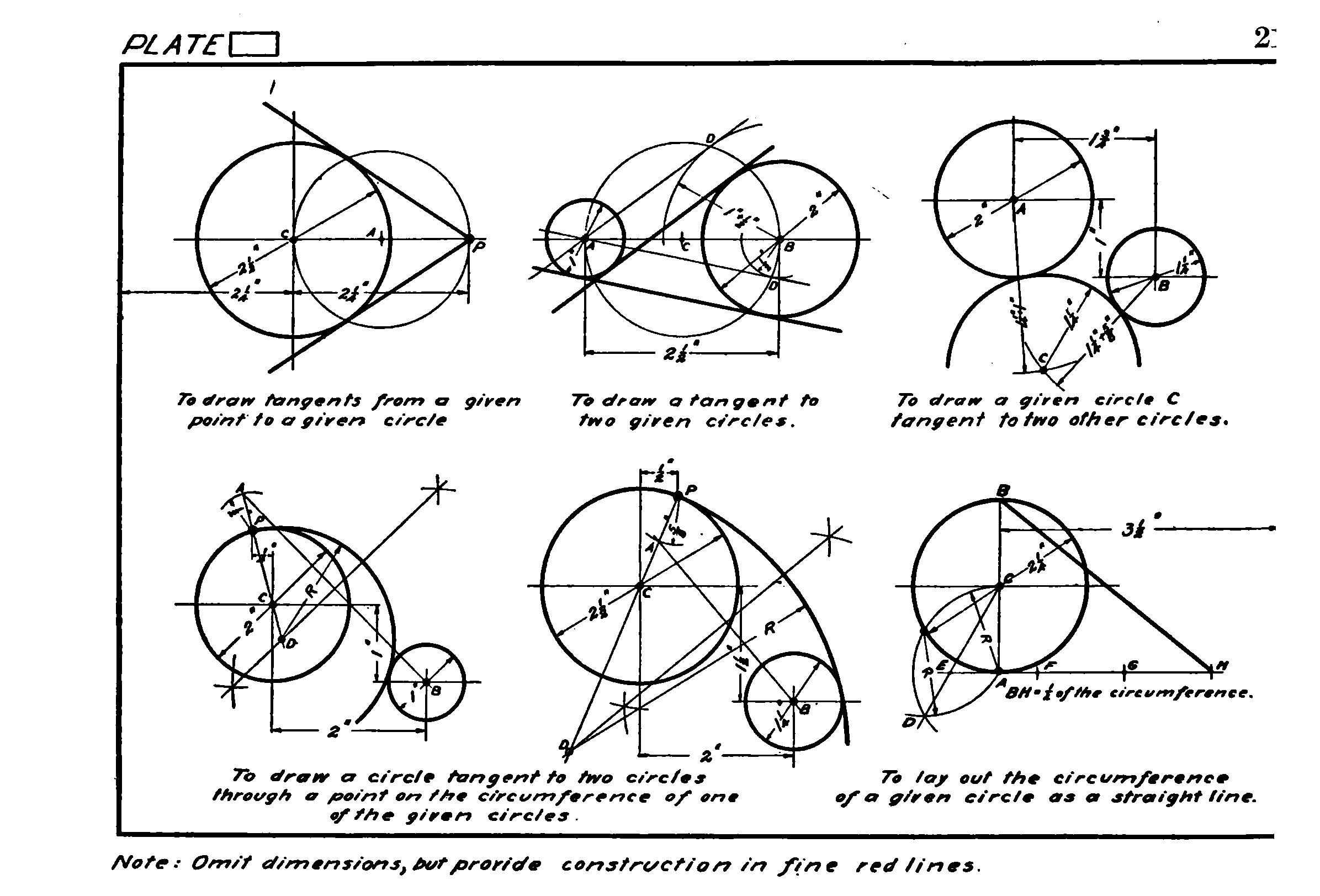Geometrical Drawing: A Collection of Plates for Practical