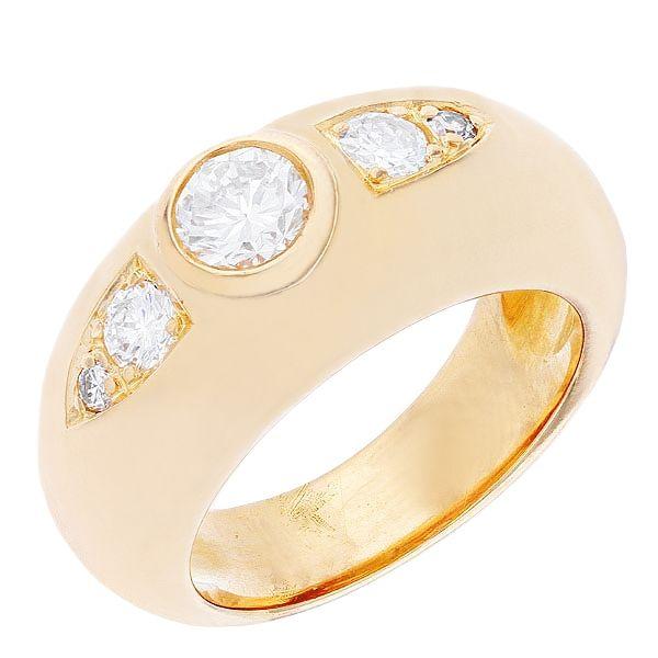 prix d'une bague or jaune 18 carats