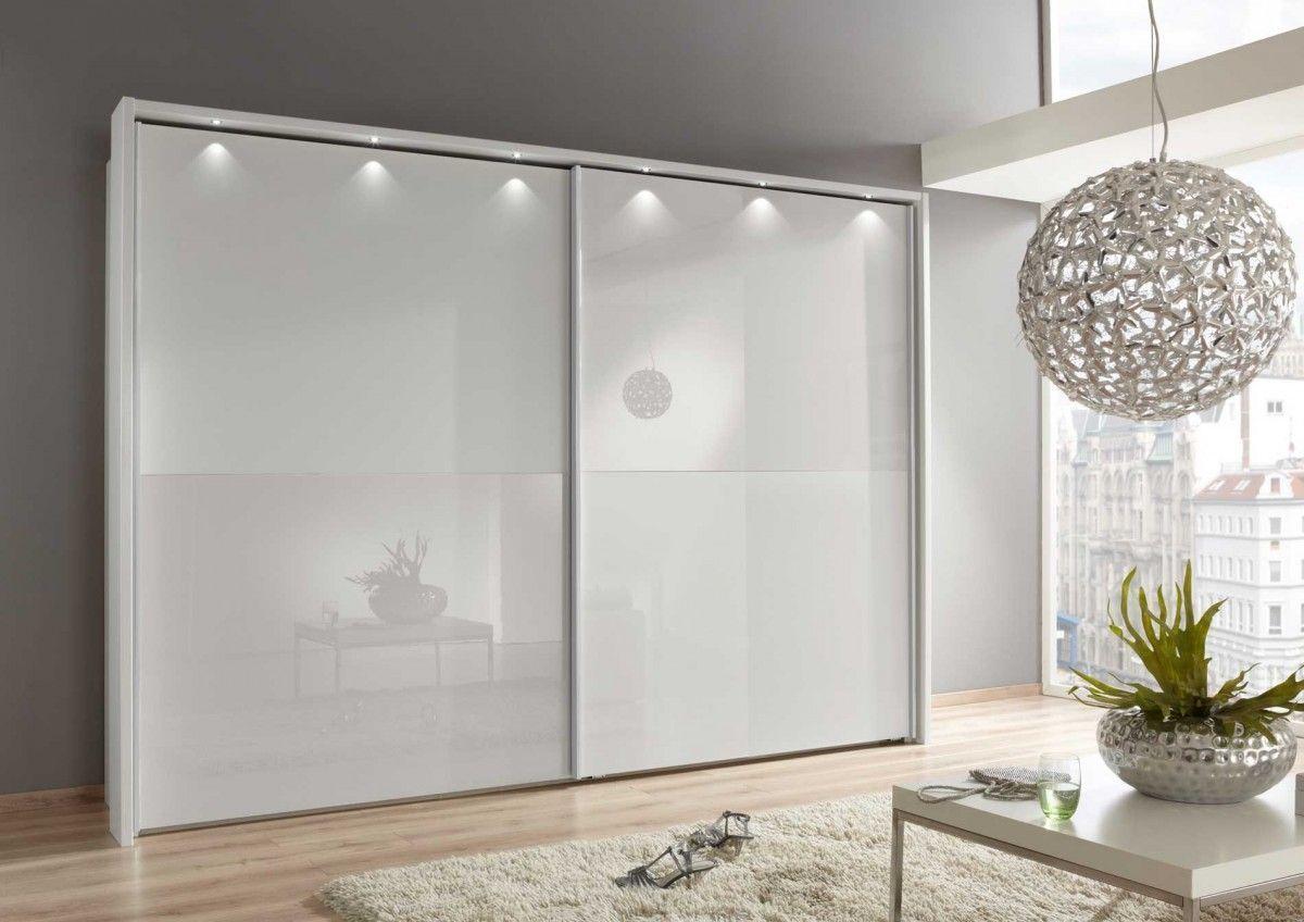 Aluna Sliding Door Wardrobe With All Glass Fronts Love Wardrobes