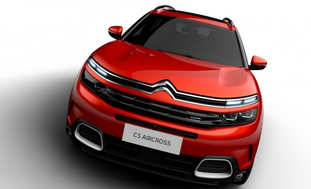 2018 Citroen C5 Aircross View Interior Styling Engine Price