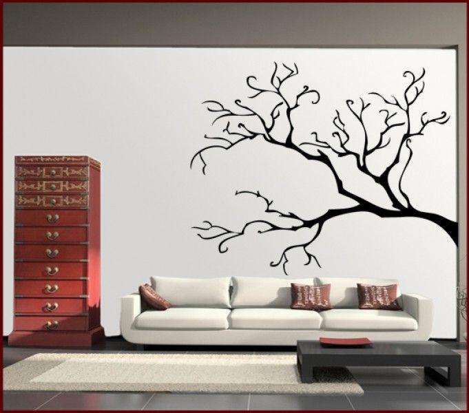 Wandtattoo Baum ohne Blätter wohnung Pinterest Family tree