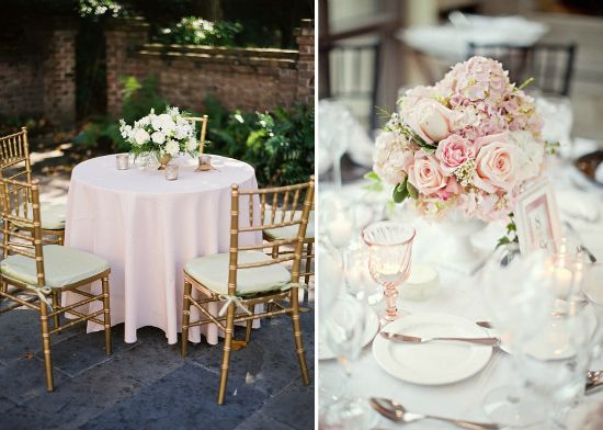 Lace Weddings Pink Champagne And Gold