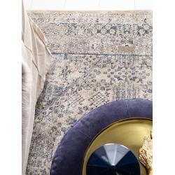 Photo of benuta Classic Teppich Yara Blau/Grau 80×150 cm – Vintage Teppich im Used-Look