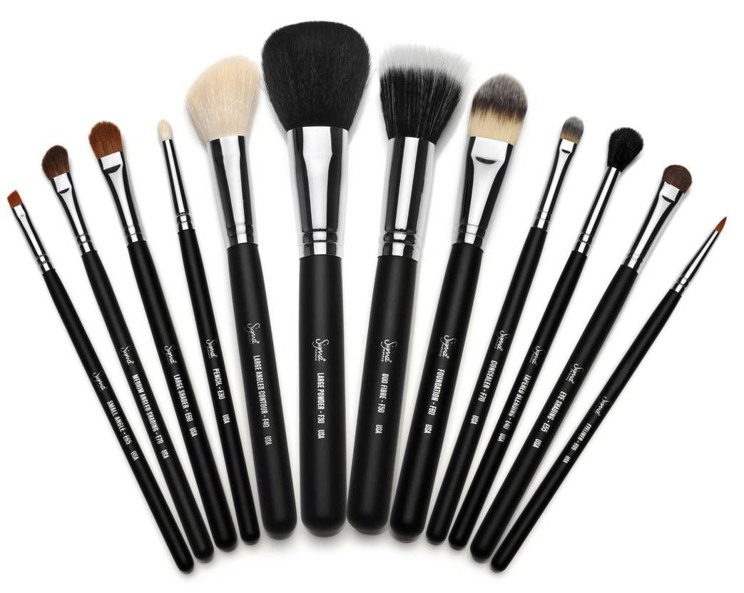 sigma makeup brushes very comparable to mac half the