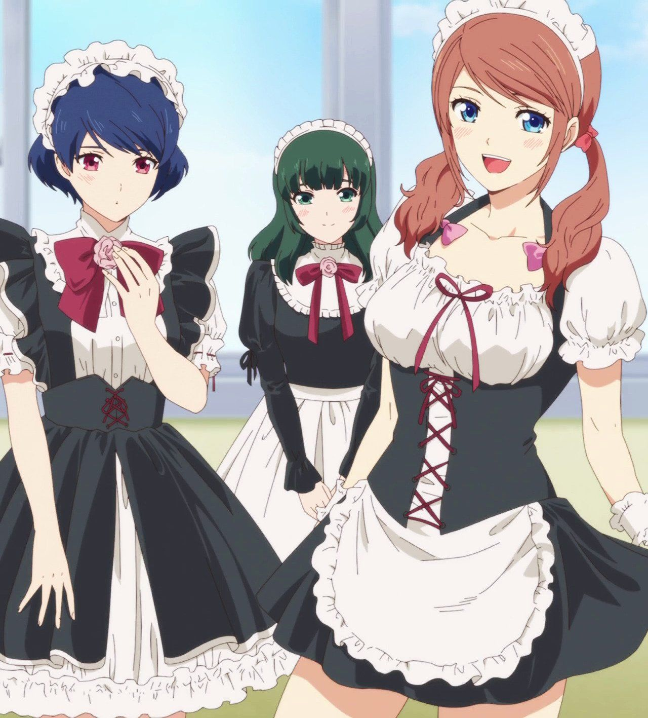 "Swifter on Twitter ""Domekano Maids!… "" Personagens"