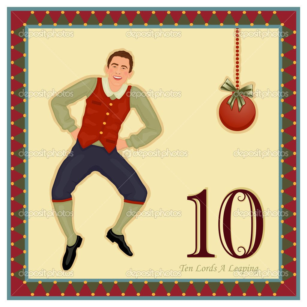 twelve days of christmas illustrations | The 12 Days of Christmas ...