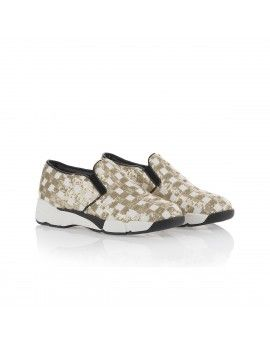 ee39c56489279b Sneakers Pinko con paillettes oro. Sale 10%