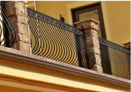 Iron Railings Deciron Llc The Balcony Company Iron Railings Outdoor Wrought Iron Railing Iron Railing