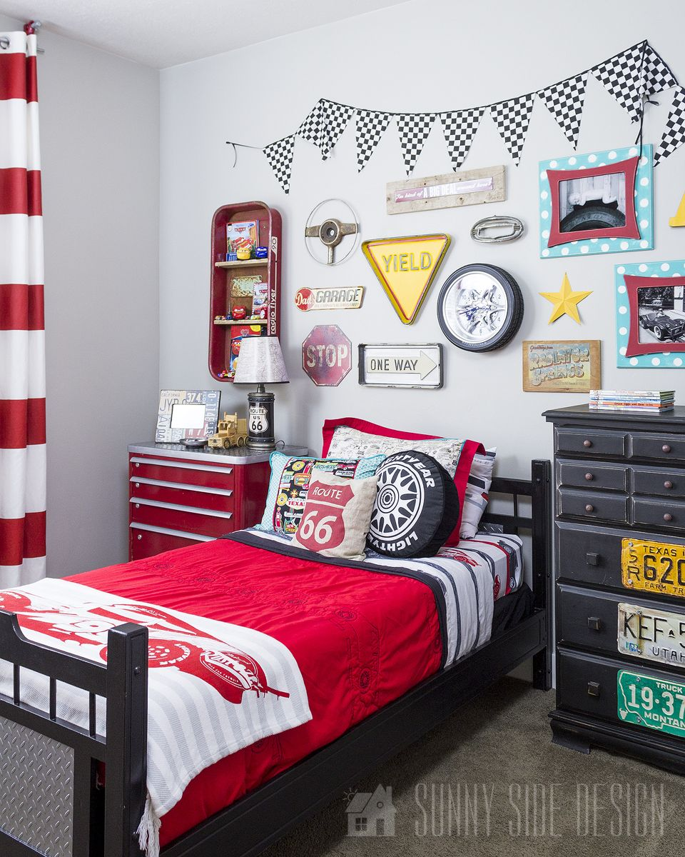 The Ultimate Diy Cars Bedroom Sunny Side Design Car Themed
