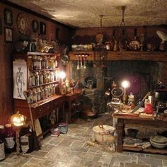 Kitchen Witch's kitchen (which would so be my space if I had a home!)