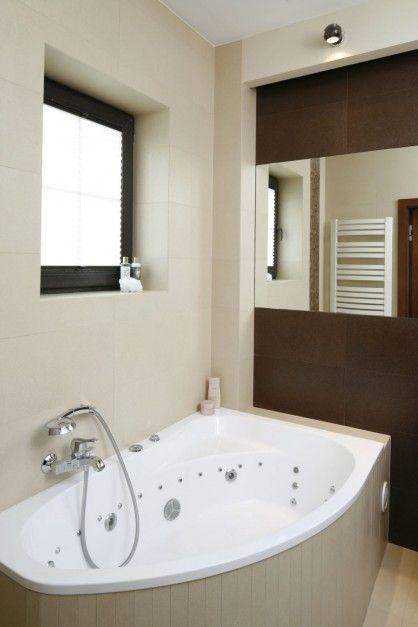 Beżowa łazienka W Stylu Glamour Zdjęcie Numer 4 Lazienka