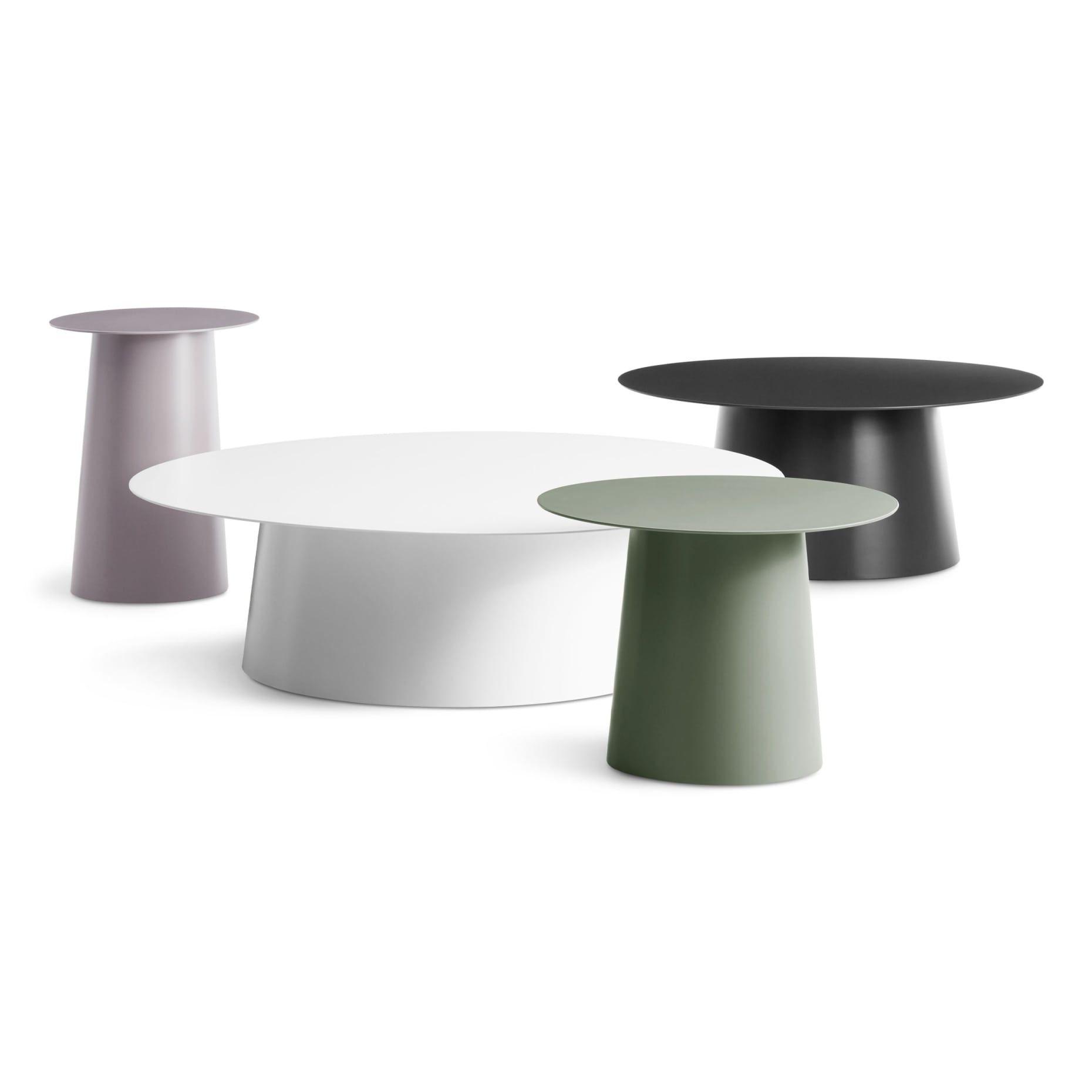 Circula Large Coffee Table Round Coffee Table Modern Low Coffee