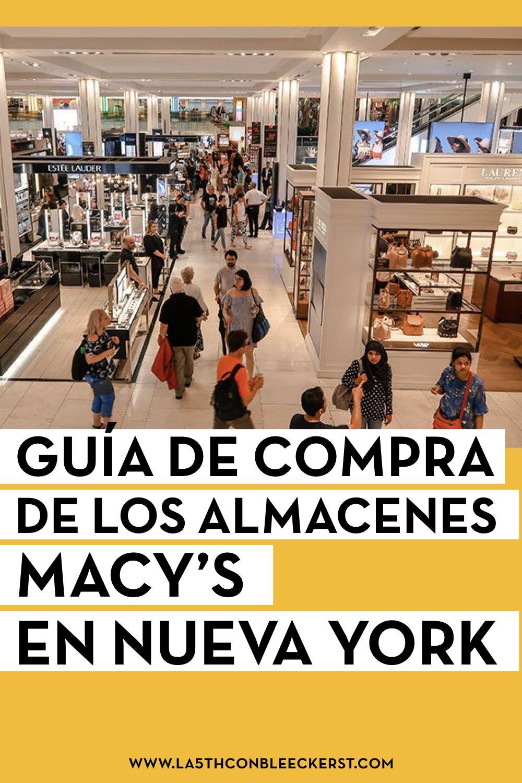 Macy S Nueva York Y Tarjeta Descuento Del 10 Nueva York Compras En Nueva York Nueva York Turismo