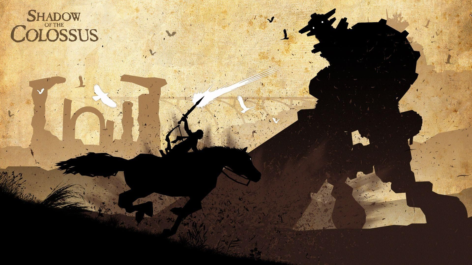 Shadow Of The Colossus Wallpaper Hd