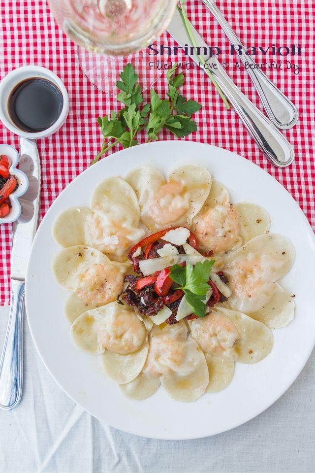 Cute #recipe for heart-shaped shrimp dumplings