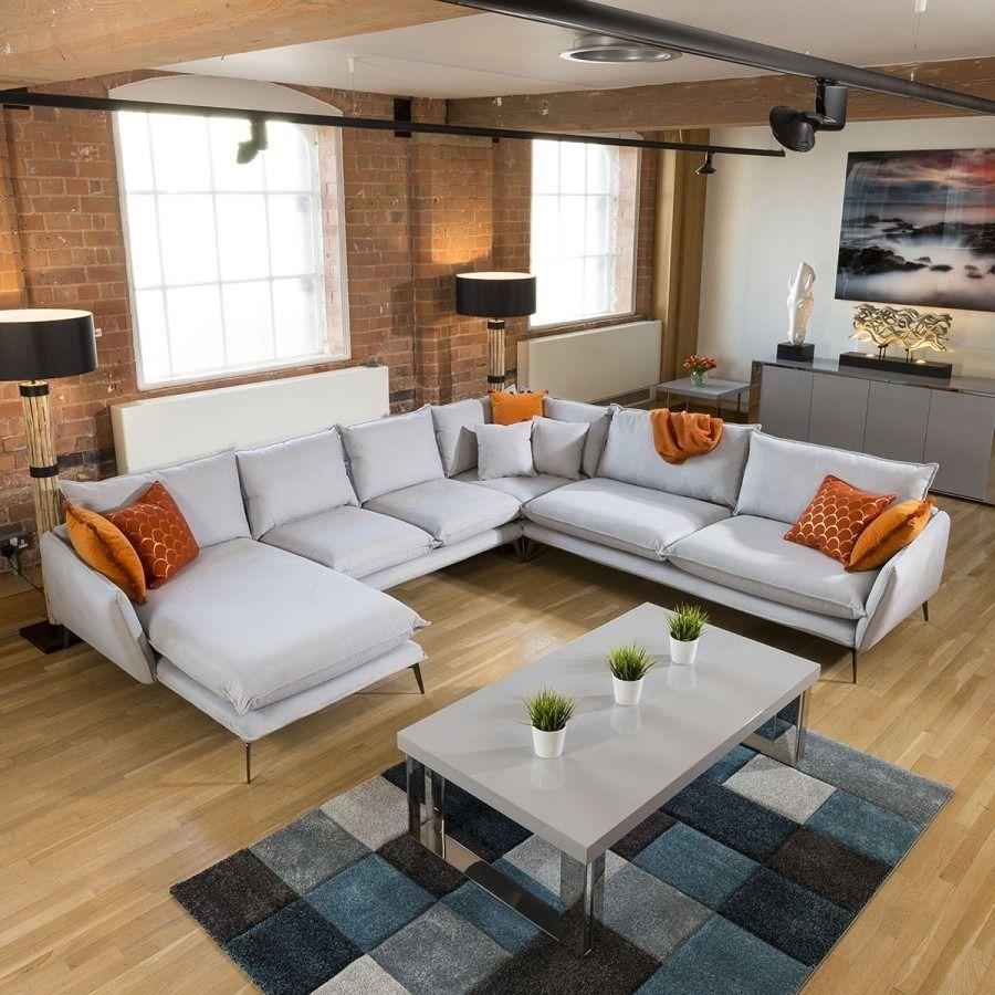 Rachel Giant U Shape Contemporary Modular Sofa Many Fabrics 3 3 X 3 15m Modular Sofa Living Room Sofa Sofa Design