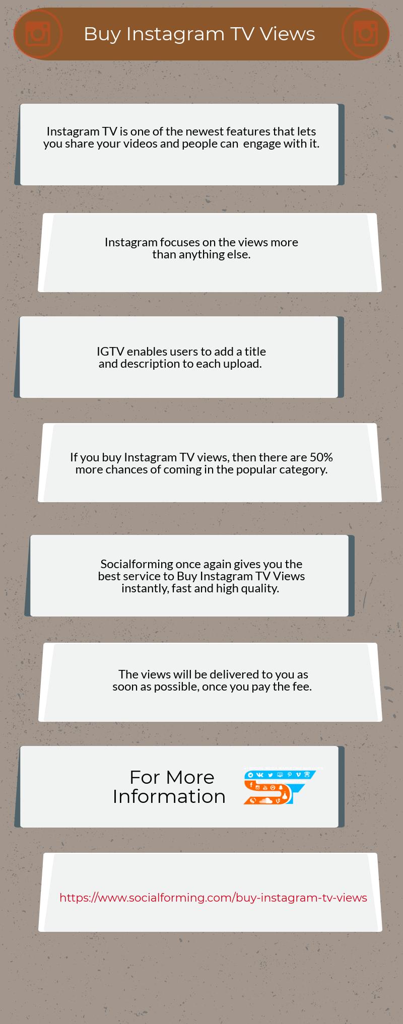 Buy Instagram Tv Views Ig Tv Video Views - Instagenerator online
