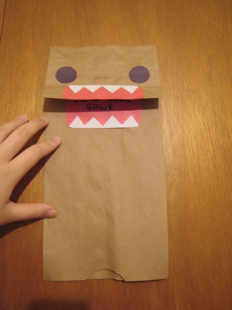 Domo paperbag puppet by xxxsashimixxx crafts for kids domo paperbag puppet by xxxsashimixxx jeuxipadfo Gallery