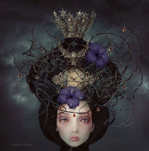 Coco 的美術館: 哥德式暗黑藝術,瀰漫死亡氣息的Natalie Shau