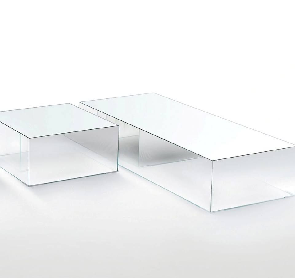 Illusion Coffee Table Designed By Jean Marie Massaud For Glas Italia With Mirroring Top And Degrading Shading Mi Coffee Table Design Coffee Table Table Design [ 907 x 960 Pixel ]