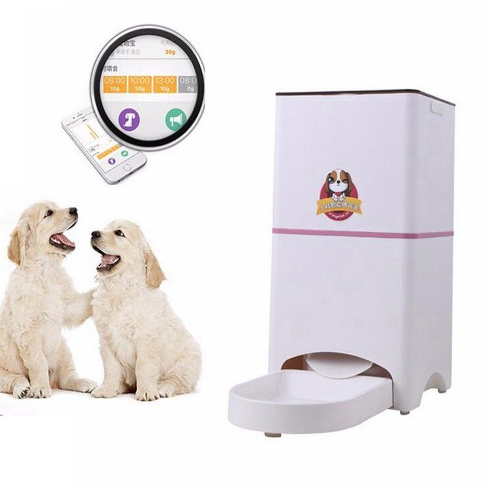 WJL JIN Smart Pet Feeder Automatic Programmable Up To 4