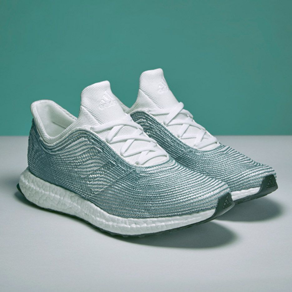 Adidas and Parley for the Ocean design ocean plastic