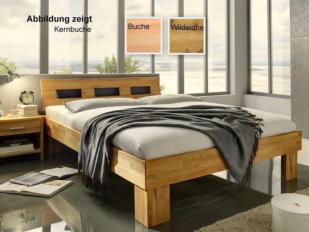 Doppelbett 200 200 Fresh Doppelbett 200 200 Massivholz Natur Geolt