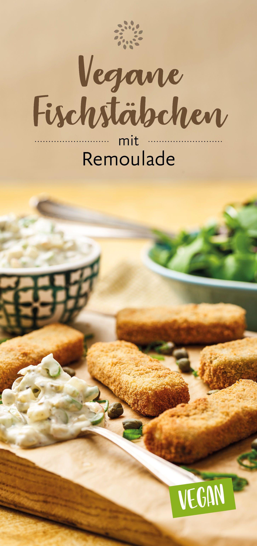 Vegane Fischstäbchen mit Remoulade – Rezepte