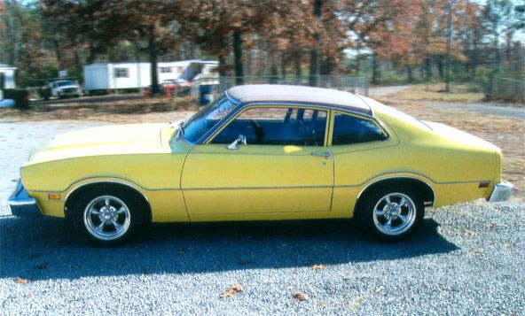 Canary Yellow Ford Maverick Yes Please Ford Maverick Ford The Good Old Days